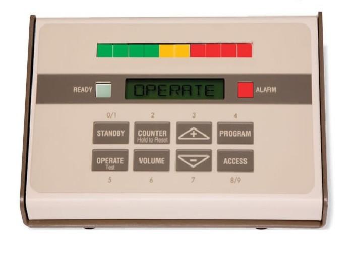Desktop afstandsbediening t.b.v. GARRETT detectiepoorten